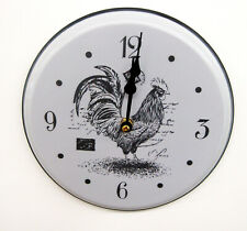 """New Rooster 9 """" Kitchen Clock With A Rooster Motif Fga-74527"""