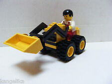 Lego--Fahrzeug--City-- 025--Baustellenfahrzeug--Mit Fahrer--Schaufelfahrzeug-