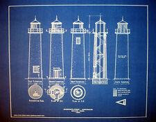 "Lighthouse at Minnesota Point 1854 Blueprint Plans 16"" x 20"" (249)"
