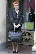 KIMO Kleidung Damen Mantel coat schwarz black 80er True VINTAGE 80´s women