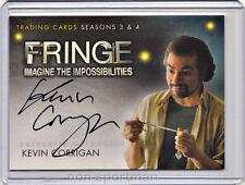 Fringe 3 & 4 Cryptozoic Autograph A11 Kevin Corrigan
