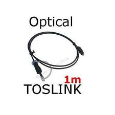 1M- Optical TOSLINK SPDIF Cable XBOX, PS2, PC, DVD, MP3