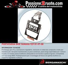Portatarga Bkr yamaha yzf r1 07 - 09 porta targa license plate regolabile