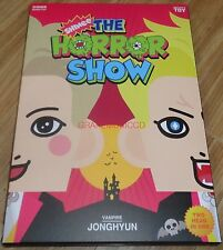 SHINEE PAPER TOY OFFICIAL SMTOWN TOY THE HORROR SHOW JONGHYUN VER. + PHOTO CARD