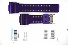 CASIO WATCH BAND: 10378392  BAND FOR GD-100  Purple Resin