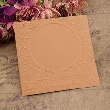 New listing 1 Christmas Embossing folders Plastic Embossing Folder For Scrapbooking Diy Uco
