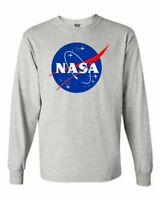 NASA Long Sleeve T Shirts
