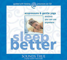 Sleep Better, acupressure & gentle yoga by Michael Reed Gach (CD-Audio, 2004)