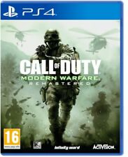 VIDEOGIOCO CALL OF DUTY MODERN WARFARE REMASTERED PS4 ITALIANO PLAYSTATION 4