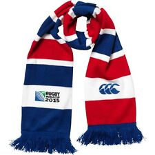 Canterbury Rugby World Cup 2015 Hoop Stripe Scarf Brand New With Tags