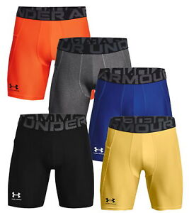 Under Armour Mens HeatGear Armour Compression Shorts Baselayer Gym Short 1361596