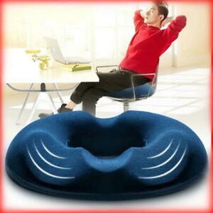 Hot Coccyx Pain Relief Memory Foam Donut Ring Cushion Travel Seat Pillow Comfort