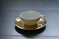 Rosenthal TAC Dynamic Gold Teetasse 2tlg Tasse nieder m. U. Gropius Bauhaus