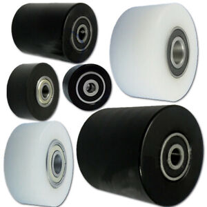 Profil- Kunststoffrolle mit/ohne Kugellager Polyamid Rollen Ø 40mm-Ø65mm