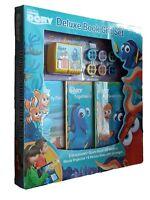 Finding Dory Disney Pixar Deluxe Gift Set 3 Books Projector Sticker Kids New