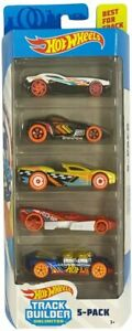 HOT WHEELS TRACK BUILDER UNLIMITED 5-PACK BRAND NEW IN BOX GREAT GIFT CARS