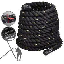 Battle Power Rope Battling Sport Gym Exercise Fitness Training 38/50mm 9/15meter
