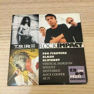 Foo Fighters / Slash / Slipknot - Tribe Vol.25 - CD PROMO - RARO NM