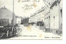 virton  rue d arlon 1906
