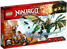 LEGO NINJAGO - THE GREEN NRG DRAGON  |  70593 |  RETIRED  |  SEALED  | FREE SHIP
