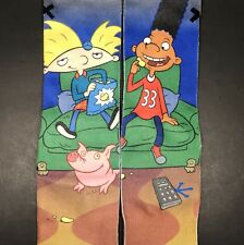 ODD SOX Nickelodeon HEY ARNOLD Men's Crew Socks NWT One Pair Fits Size US 6-13