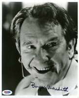 Burgess Meredith Psa Dna Coa Autograph 8x10 Photo Hand Signed