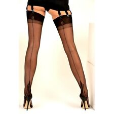 NEW GIO MEMPHIS FF Seamed Stockings Bronze Choose 8.5 9.5 10 10.5 11 XS M L XL