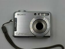 Sony Cyber-shot DSC-S700 7.2MP Digital Camera - Silver