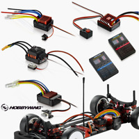 Hobbywing Brushed Electronic Speed Controller ESC For RC Crawler Car Boat Parts