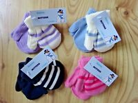 2 Pair BABY BOYS GIRLS NURSERY/CASUAL WINTER WARM MAGIC MITTENS HAND PROTECTION