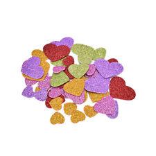 45 EVA Heart Kindergarten Foam Sticker Wedding Adhesive Deccor Kids Crafts  B Mf