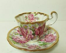 ADDERLEY ROSES FINE BONE CHINA ENGLAND TEA CUP AND SAUCER RARE