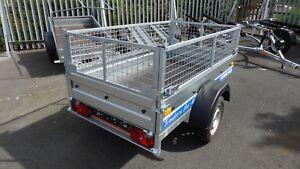MESH CAGE TRAILER 750KG 6X4 SINGLE AXLE @wychavon trailers