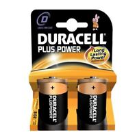 Duracell Plus Alkaline 2 Batteries D Size - Pack of 10 (20 Batteries in total)