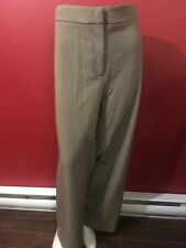 SAG HARBOR Women's Slimming Solution Taupe Dress Pants - Size 18W - NWT $44