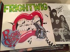 "FRIGHTWIG -- PHONE SEXY 12"" LP TUPELO GERMANY 89 - PUNK + INSERT"