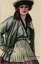 """M. Dudovich - Art Deco - """"Donnina"""", Glamour Lady - D022"""