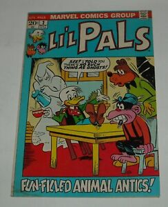 LI'L PALS # 2 MARVEL COMICS 1972 FUNNY ANIMALS MONKEY BEAR MONTGOMERY DUCK