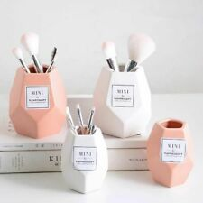 Makeup Brush Ceramic Storage Jar Bottle Cosmetic Storage Organizer Pen Holder