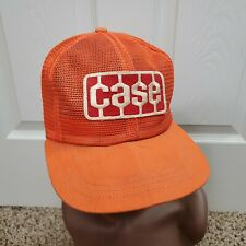 Vintage Case Snapback Trucker Hat Full Mesh Patch Cap Made in USA