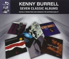 Kenny Burrell SEVEN (7) CLASSIC ALBUMS VOL 1 Introducing K.B. BLUES New 4 CD