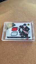 Very rare 2010-11 Luxury Suite Dual Prime Jersey Card Of Jonathan Toews 005/150