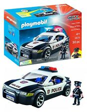 playmobil polizeiauto ffentliche dienste g nstig kaufen. Black Bedroom Furniture Sets. Home Design Ideas