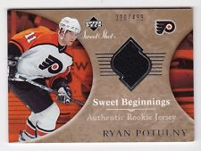 2006-07 NHL Upper Deck Sweet Shot # 142 Ryan Potulny RC SP # /499 / Rookie Card