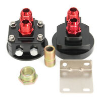 Oil Filter Relocation Male Sandwich Fitting Adapter Plate Kit M20x1.5 &
