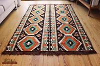 Carpet 135x200 cm,4,5' x6,5',Area Rug oriental,alfombra,Kelim Damaskunst 1-4-80