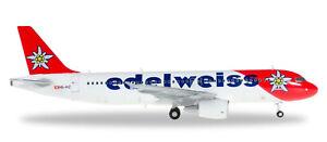 Herpa Air Airbus A320 Edelweiss Air 1:200 Modélisme