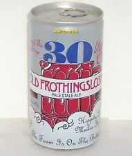 30yrs OLD FROTHINGSLOSH TIN BEER CAN PALE STALE ALE GIRL REGGIE PITTSBURGH,PENN
