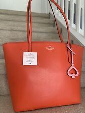 Kate Spade Zina Tamarillo Large Tote Handbag $329 Original List Price