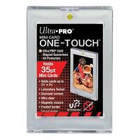 "ULTRA PRO MINI CARD ONE-TOUCH - FITS MINI CARDS 2 1/4"" x 3 1/8"" - UV PROTECTION"